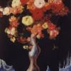Les fleurs glacées 100×70 Cm