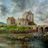 Château d'Eilian Donan 50×60 cm